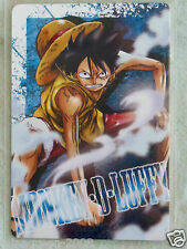 Htf Japan Bandai One Piece Caramel Popcorn 1st Card 001 Monkey D. Luffy