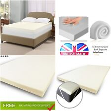 100/% memory foam mattress topper available in all sizes and depths