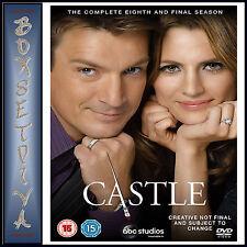 CASTLE - COMPLETE EIGHTH SEASON - SEASON 8 FINAL SEASON **BRAND NEW DVD*