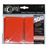 Ultra Pro Matte Deck Protector Sleeves ECLIPSE APPLE RED  100ct MAGIC POKEMON