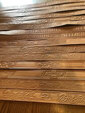 New listing 15 Car Manufacture And Nascar Embossed Blank Belts