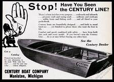 1937 Century Boat Rascal model photo vintage print ad