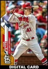 Topps BUNT Tyler ONeill GOLD PHYSICAL SERIES BASE 2020 [DIGITAL CARD]