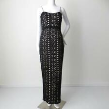 LUMIER by BARIANO Size Small Black and Cream Maxi Dress