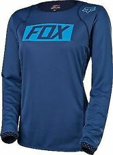 Fox Womens Ripley MTB Long Sleeve Jersey - Navy - Medium (HOT BUY)