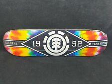 Element Skate Tye Dye Major League 8 Inch Deck