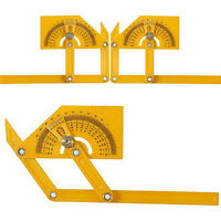 Measuring Instrument Angle-izer Four-Sided Ruler Mechanism Slide Template Tool*F