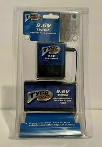 *New* Tyco RC 9.6V Turbo Battery Pack & Charger