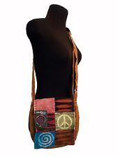 Himalaya Handcraft Crossbody Boho Bag Multi-Colored Adjustable Strap NWT