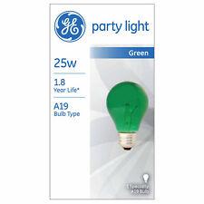 GE Lighting 25 Watt A19 Party Light 49725 Medium Base 1 Bulb