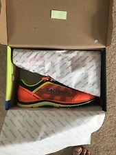Salming Speed Mens Running Shoes Blue Natural Minimalist Run Trainers UK 11 11.5