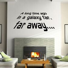 Far Away Removable Star Wars Wall Sticker living Room Mural Decal Home Decor Art