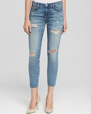 NWT CURRENT ELLIOTT Sz25 THE STILETTO SLIM BOYFRIEND JEANS SUPER SUP LOV DES W-P