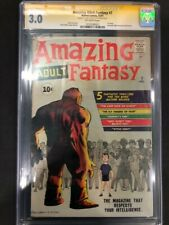 Amazing Adult Fantasy #7 CGC SS 3.0 Signed Stan Lee