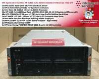 HPE Apollo 4510 Gen9 1x HP XL450 2x E5-2650V3 256GB 272TB SAS 2x 10Gb SFP