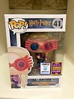 LUNA LOVEGOOD WITH GLASSES SDCC 2017 CONVENTION EXC FUNKO POP HARRY POTTER 41