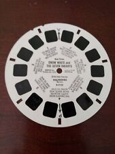 """""""Snow White and the Seven Dwarfs"""". View-master #B3153. Used condition."""