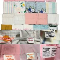 Mixed Lot of 22 Vintage Pillowcases ~ CRAFT CUTTER