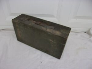 WW1 US M1915 Colt-Vickers Wooden Ammo Box--Original