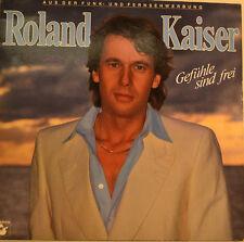 """Roland Kaiser - Gefühle Are Free 12 """" LP (U216)"""