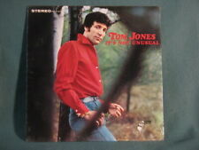 Tom Jones It's Not Unusual Stereo Parrot LP Record SEALED NO BAR CODE