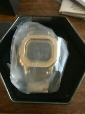 New Casio G-Shock Full Metal Yellow Gold 35th Anniversary Watch GMWB5000GD-9