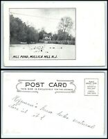 NEW JERSEY Postcard - Mullica Hill, Mill Pond K22