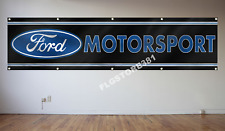 FORD Banner Flag 2X8FT Motorsport Racing Flag Workshop Adversting