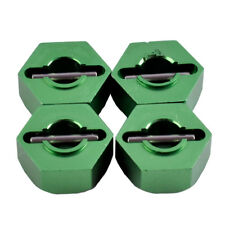 RC 0044 Green Alum Wheel Hex Drive Adaptor &Pin 4P Fit WLtoys 1/12 12428 12423