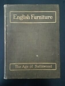 History Of English Furniture 1908 Age Of Satinwood Percy Macquoid Color Plates