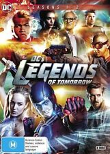 DC's Legends Of Tomorrow Box Season 1 - 2 One and Two DVD NEW Region 4