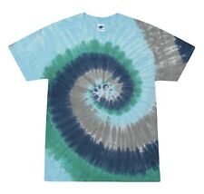 Earth Multi-Color Tie Dye T-Shirts S M L XL 2XL 3XL 4XL 5XL Cotton Colortone