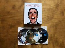 American Psycho Blu-Ray/Dvd*Koch Media*Region B Pal*Limited Mediabook*Oop*3 Disc