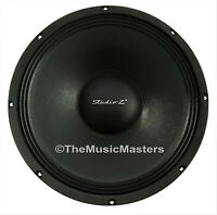 """1X Single 15"""" inch 8 ohm WOOFER Bass Speaker Studio Home Cabinet Sub Replacement"""