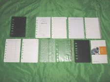 Classic 1 Year Undated Refill Tab Page Lot Franklin Covey Planner Fill Set D