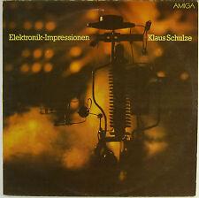 """12"""" LP - Klaus Schulze - Elektronik-Impressionen - k5193 - washed & cleaned"""