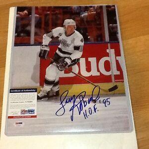 Larry Robinson Signed 11x14 Photo PSA DNA COA Autographed LA Los Angeles Kings a