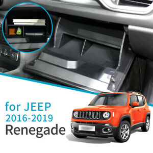 Car glove storage box for Jeep Renegade 2015 - 2019 Accessories Co-pilot Box