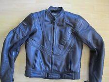 Hochwertige Leder-Motorradjacke von Vanucci TFL für Herren, Größe 94