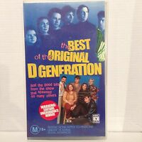 THE BEST OF THE ORIGINAL D GENERATION ~ VHS VIDEO