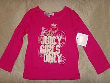 NEW JUICY COUTURE INFANT/BABY GIRL PINK T-SHIRT TOP – SIZE 6-12M