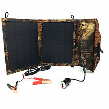 Solar Panel usb Foldable Battery Charging  10W 12V Charger Controller Boat