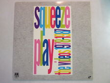 SQUEEZE PLAY THE VIDEOS 1978-1987 STEREO NTSC LASERDISC A&M LV 38407 RARE OOP