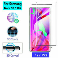 2Pcs Full Cover Tempered Glass Screen Protector For Samsung Galaxy Note 10 Plus
