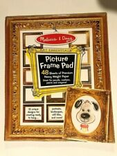 Melissa & Doug Picture Frame Art Pad - Draw your image and it's ready to hang!