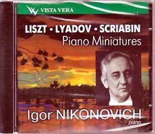 NIKONOVICH, IGOR Liszt Lyadov Scriabin Preludes, Nocturnes, Etude, Poems, Improm