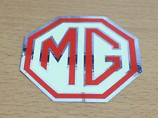 MG DECAL REFLECTIVE FOIL MG OCTAGON DECAL - STICKER x2 80MM HMP110005 Decorative