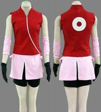NARUTO Haruno Sakura Cosplay costume Kostüm manga cartoon Damen XL (EU M-L)