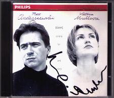 Viktoria MULLOVA & Piotr ANDERSZEWSKI  Signiert BRAHMS CD Violin Sonata No.1 2 3