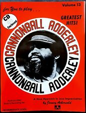 Cannonball Adderley, Greatest Hits, Ed. Jamey Aebersold, 1978